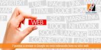 7 puntos a revisar si Google no está indexando bien su sitio web