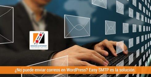¿No puede enviar correos en WordPress? Easy SMTP es la solución.